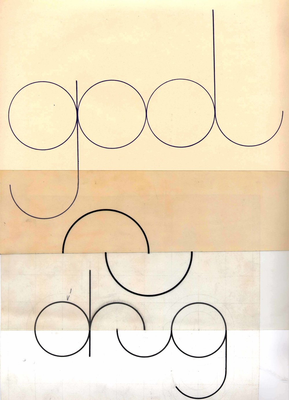 LE DRUG, graphics, 1965 Collection François Dallegret