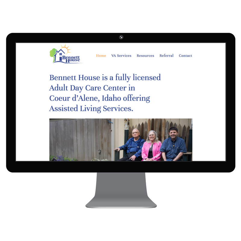 Click to visit the new BennettHouse.org