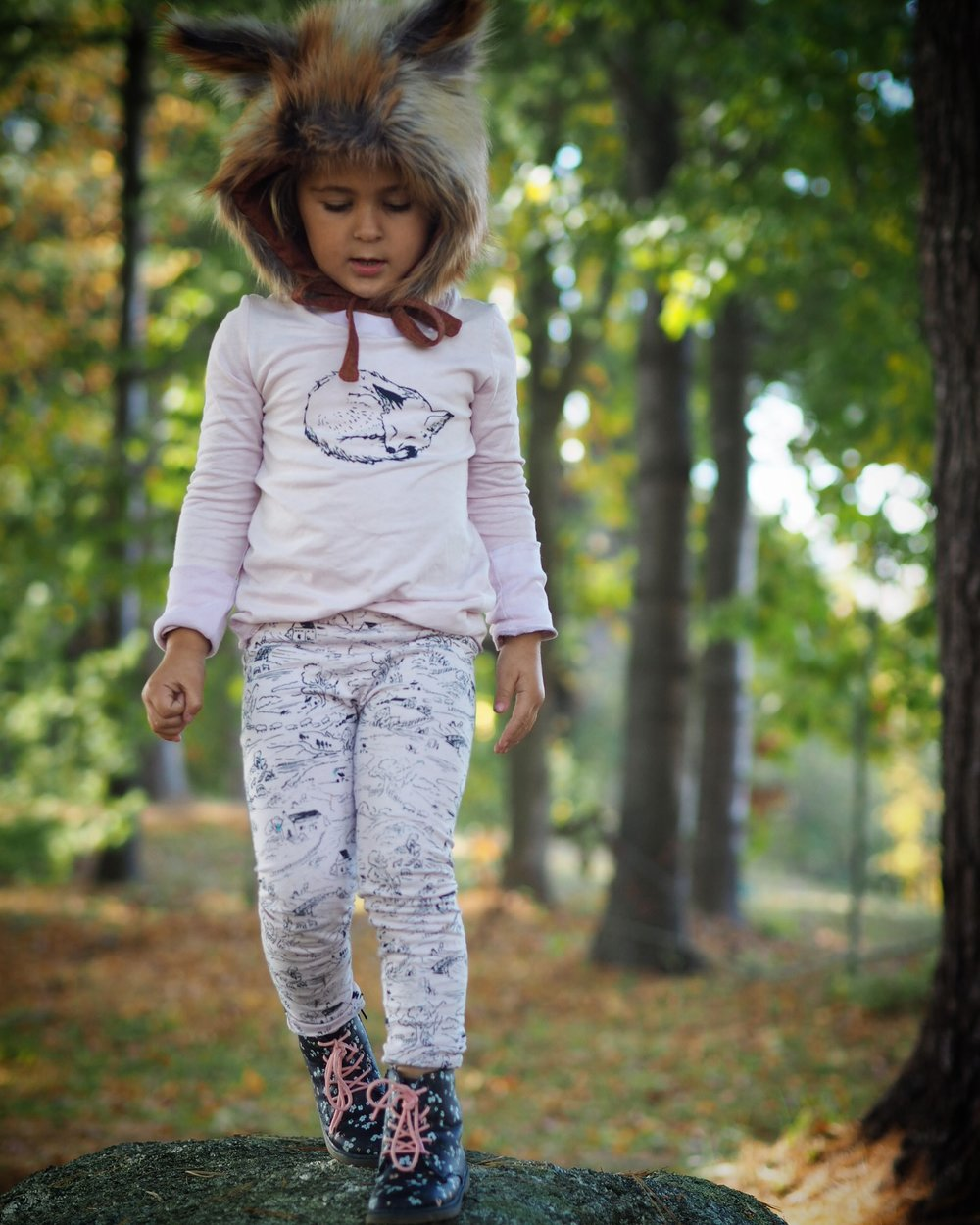 shop  Little Fox Tee  and  English Countryside Leggings