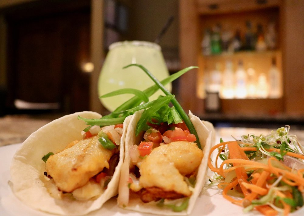 Fish tacos: a signature dish at Rustica.