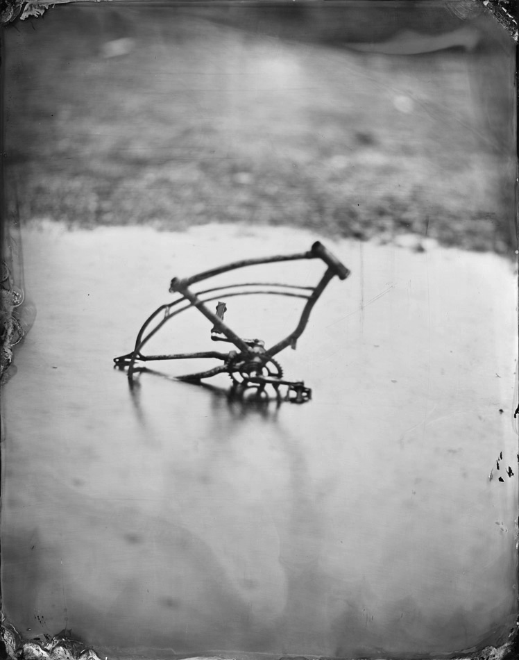 Bicycle in the Mud