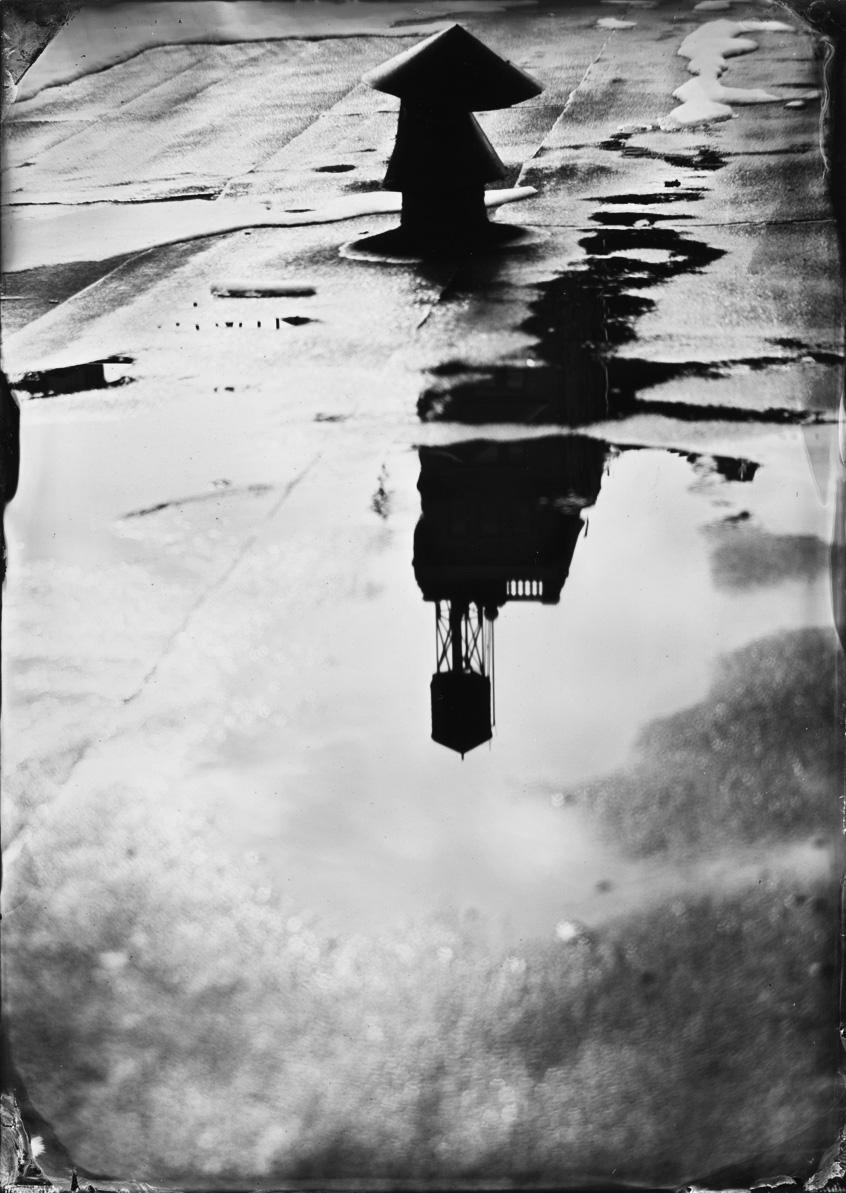 Water Tower Reflection, Flatirons