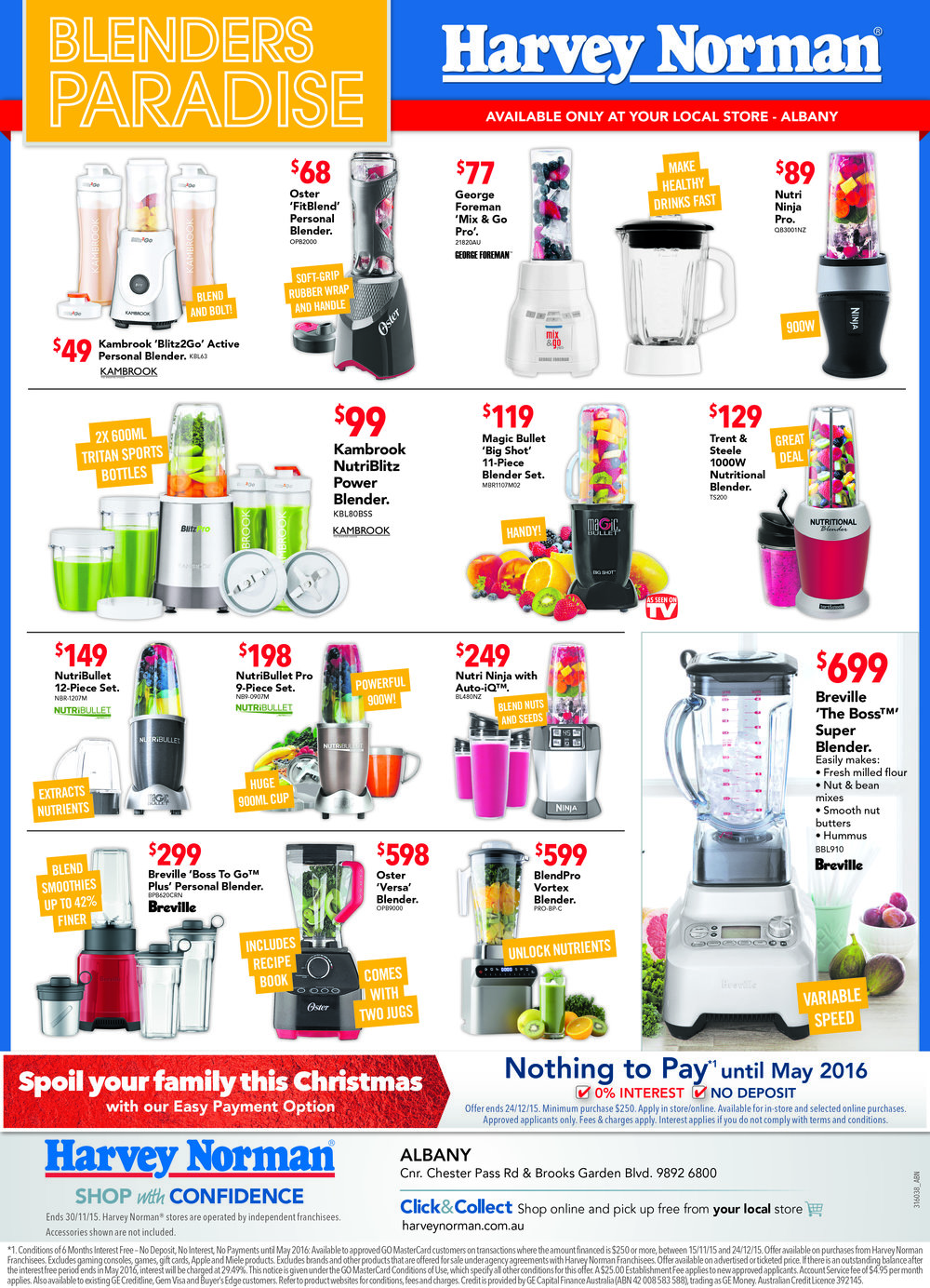 """Blenders Paradise"" Newspaper Ad"