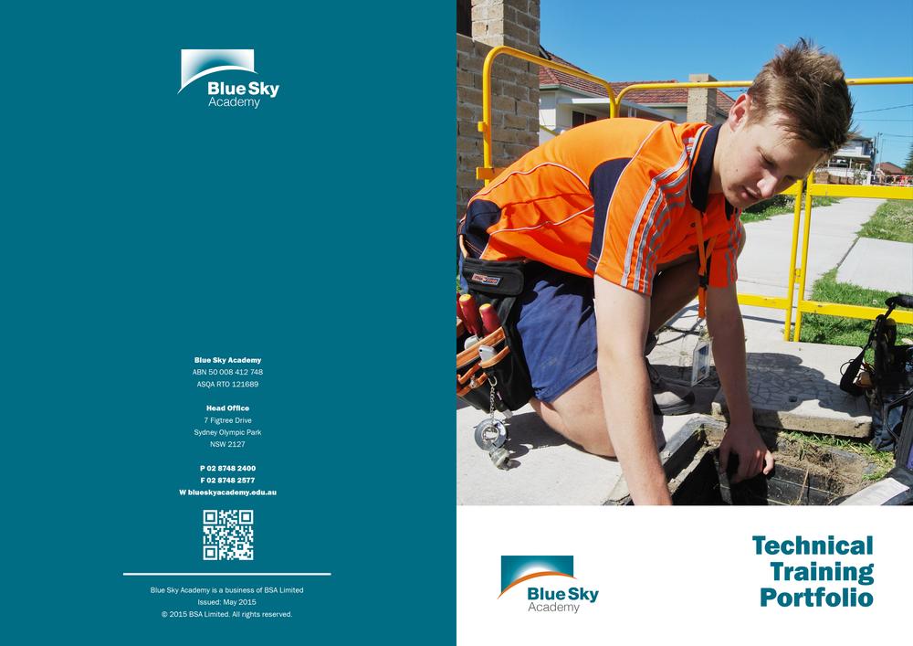 Technical Training Portfolio Cover
