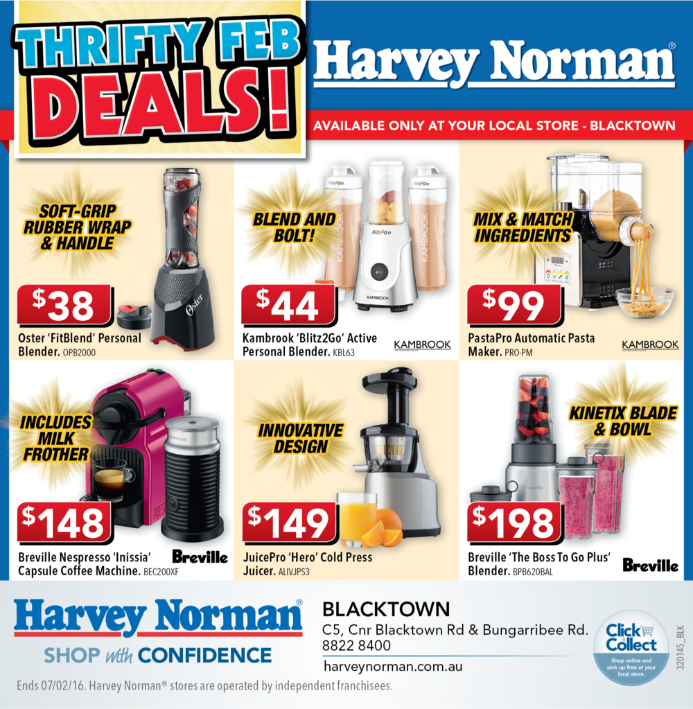 """Feb Deals"" Half-Page Ad"