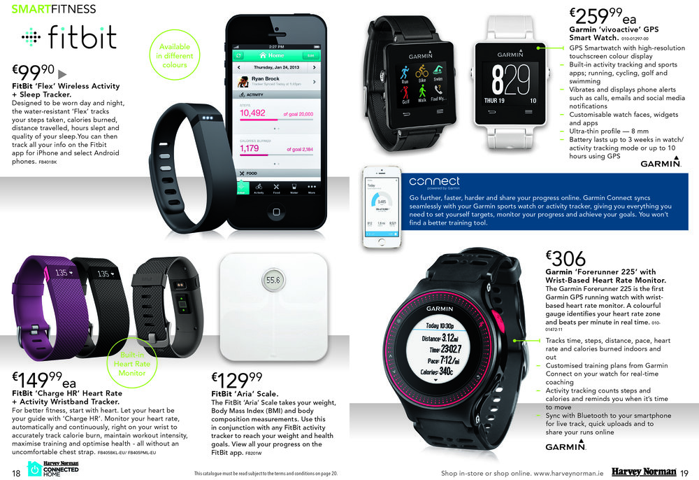 """Connected Home"" Catalogue Spread"