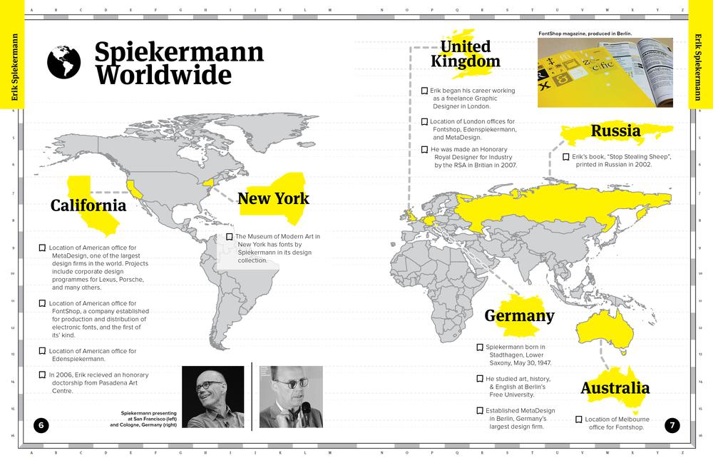 """""""Spiekermann"""" Map Spread"""