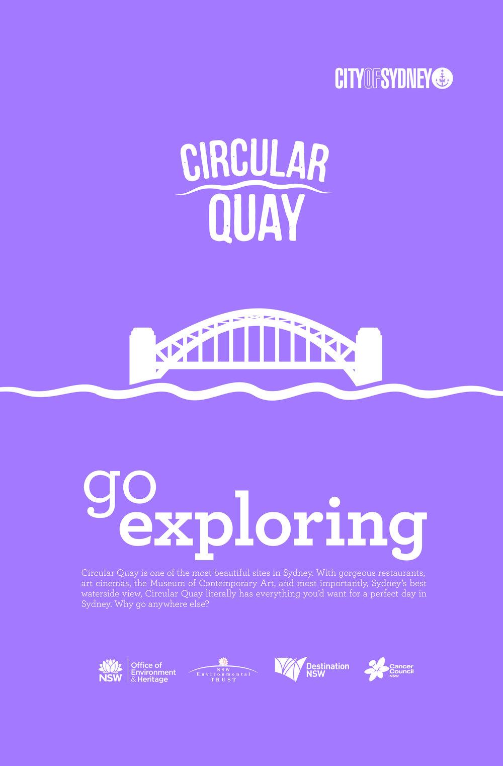 """Circular Quay Rebrand"" Poster"