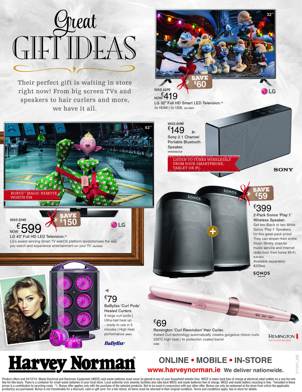 Xmas Campaign One-Page Ad