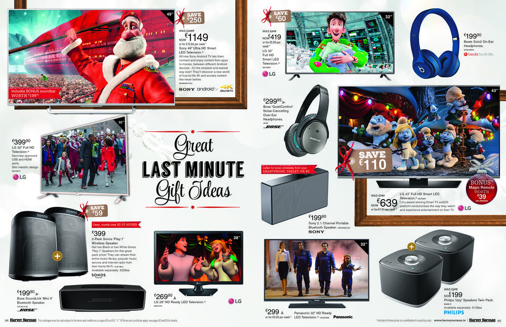 Xmas Campaign Catalogue Spread
