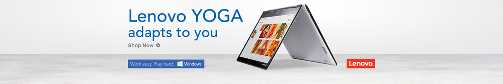"""Lenovo Yoga"" Web Strip"
