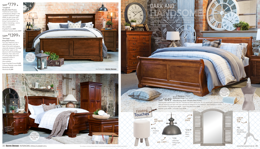 """Interiors"" Catalogue Spread"