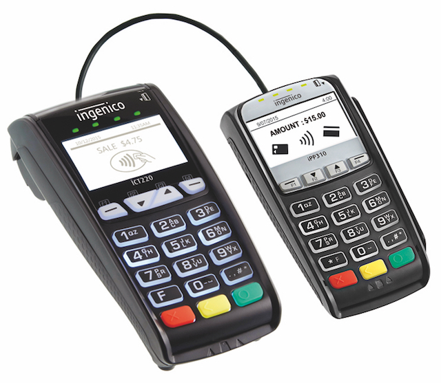 Ingenico ICT 220 with iPP310 Pin Pad