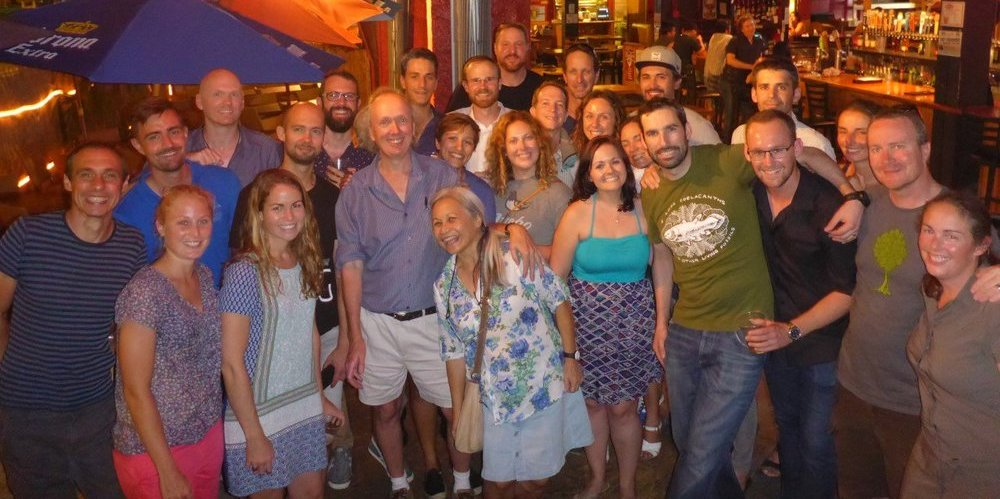 Bellwood Lab reunion at ICRS 2016, Hawaii.