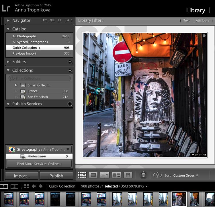 lightroom-plugin — Streetography