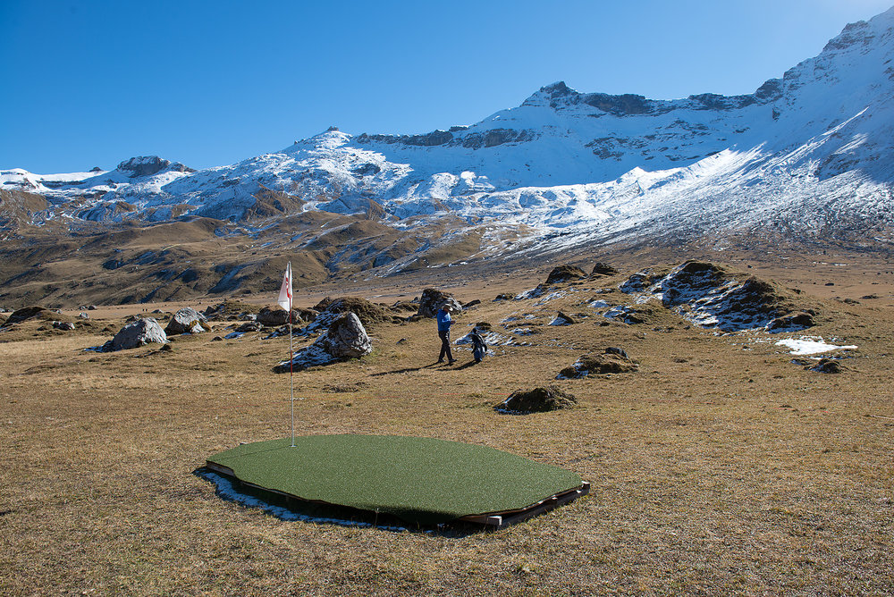 Mountain Golf, Engstligenalp
