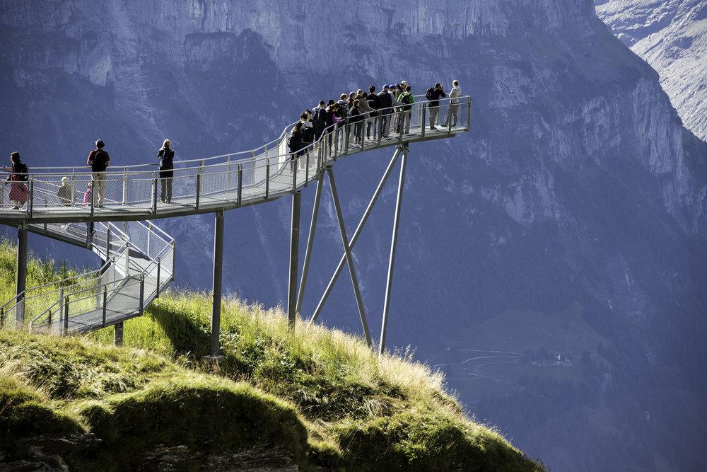 Grindelwald First Cliff Walk 6.9.2017