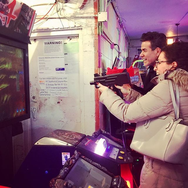 Eliminado Zombies. Eliminate da zombies @jyenque #zombies #games #newyorker #chinatown #fun