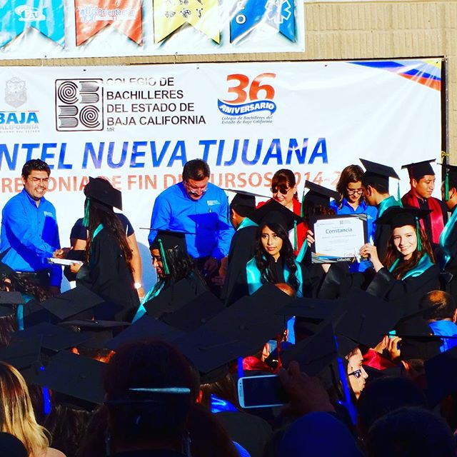 #ArtsBT @artsbt & @jyenque showing support of ABT student at High School graduation in #Tijuana.