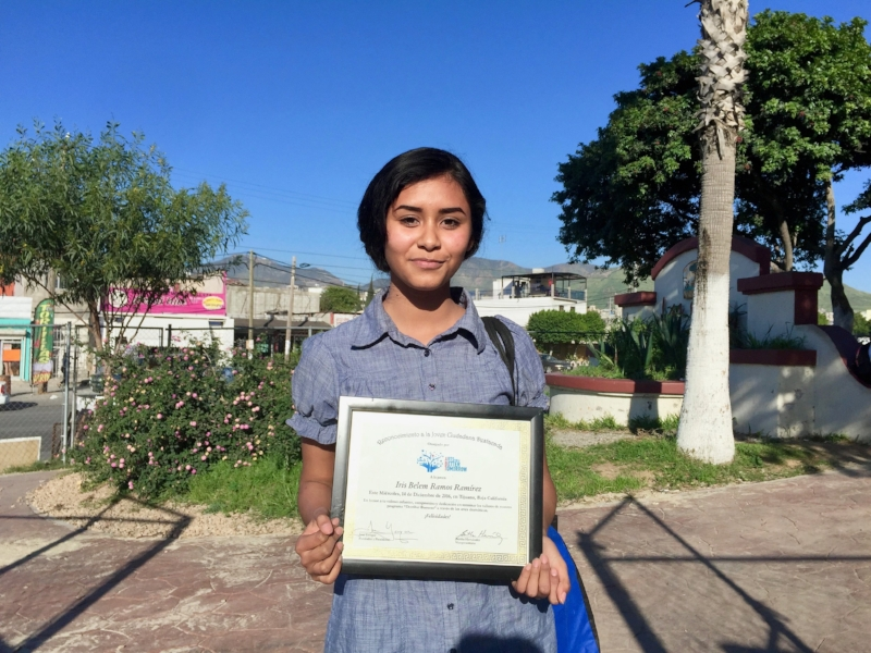 Belem is now on ABT's Tijuana Youth Program Development Committee and doing great in High School and wants to pursue university studies in the future to become psychologist and help teen girls struggling with destructive thoughts and behaviors.
