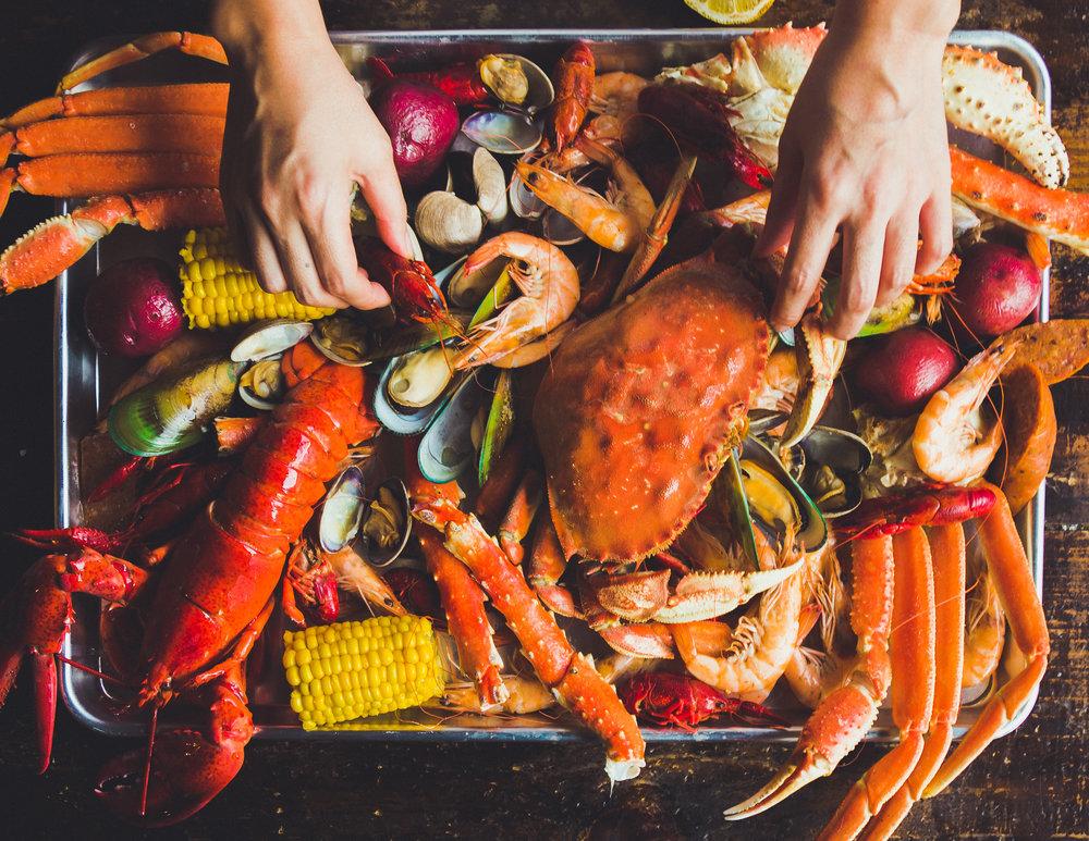 Kickin Kajun-Seafood