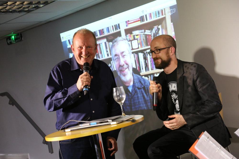 Ian Livingstone, Warren Spector, Kieron Gillen