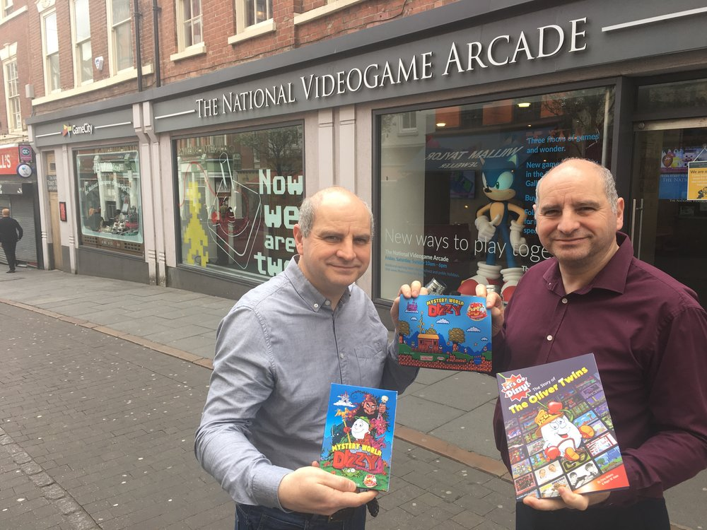 "The Oliver Twins - ""The National Videogame Foundation is providing a much needed cultural centre-of-gravity for videogames in the UK. We have two fantastic trade bodies, but the NVF brings something new and distinct to the public life of videogames that really deserves the industry's support. We're an art form, after all!"""