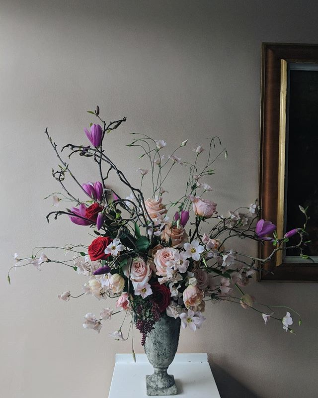 Wednesday - feels like life is being breathed back into the world...well at least our flower choices anyway.