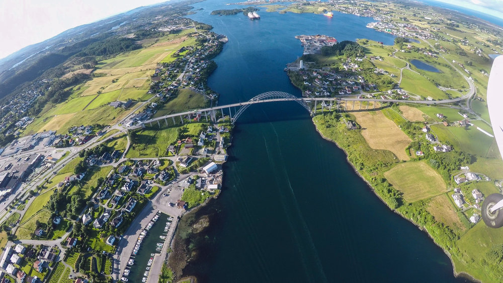 Karmsundet, Norge