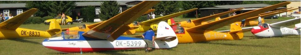 """The first is  the gliding competition of """"Šohaj"""" type  and other historic gliders took place at Rana airfield in northwest Bohemia last week in May 2019. Except traditional """"Sohaj"""" gliders participated also other historical types from 70,0 up to performance index 79,9 (Sohaj has index 74)."""