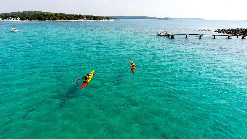 Kayaking Polari Rovinj Croatia