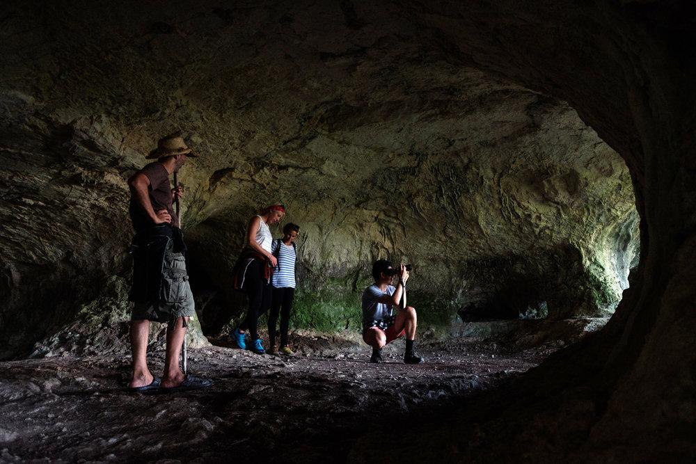 cave exploring, Rovinj, Croatia