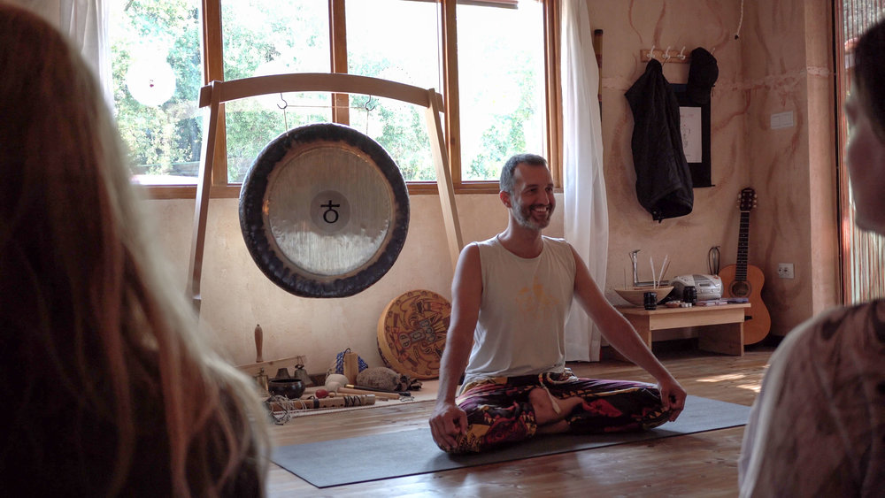Yoga lessons, Croatia. Five Elements Guesthouse Accommodation, Rovinj.