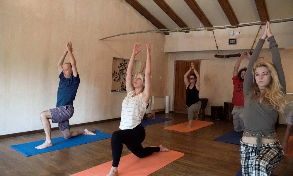 Yoga lessons, Croatia. Five Elemets Guesthouse Accommodation, Rovinj.