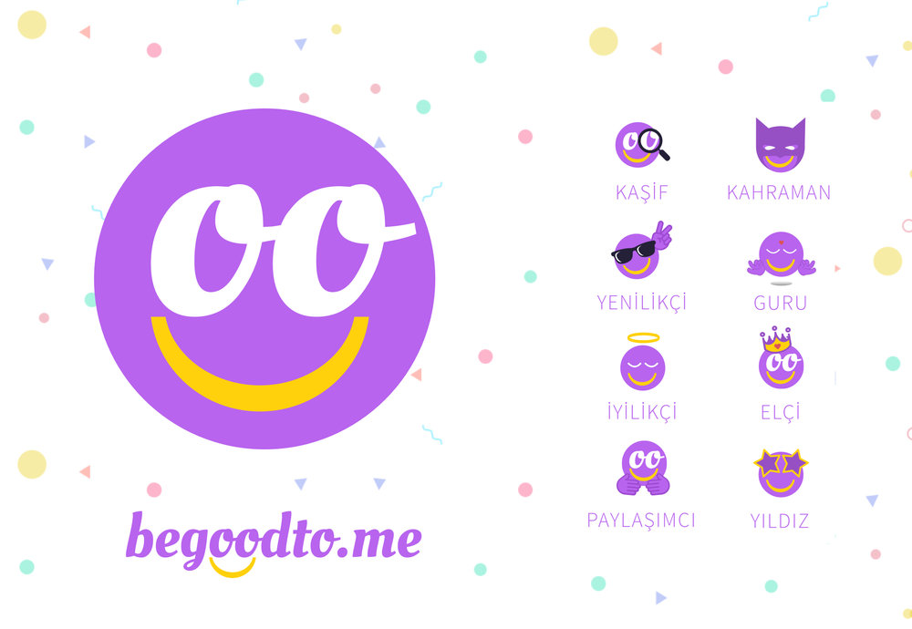 App Icon and badge designs for begoodto.me