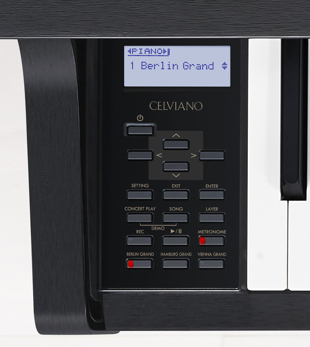 CASIO GP-300BK_panel