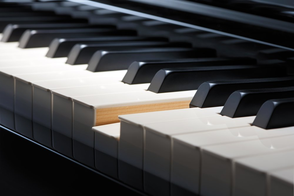 casio grand hybrid wooden piano keys