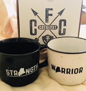 Strength mug or Warrior mug from Catalyst for Change