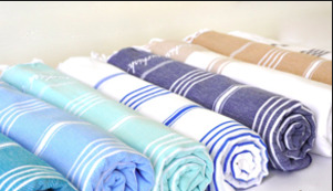 2 Embroidered Special Surfer Towels