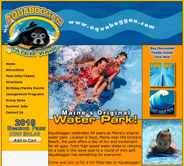4 pack of day passes to Aquaboggan Water Park  http://www.aquabogganwaterpark.com/