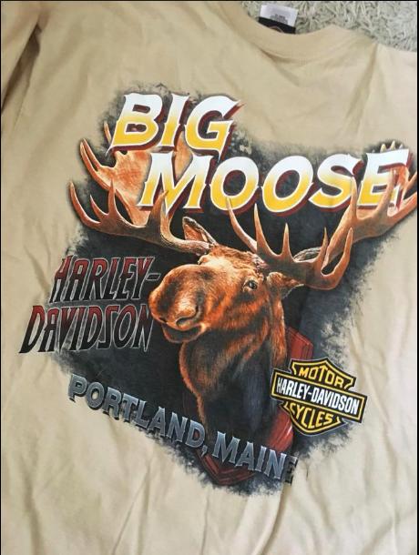 Men's XL Harley Davidson T-shirt from Big Moose Harley