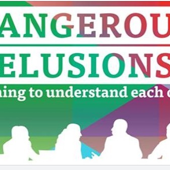 Book your ticket for our November Interfaith Week Event! Search Dangerous Delusions on Eventbrite! Free tickets, free food, all welcome!
