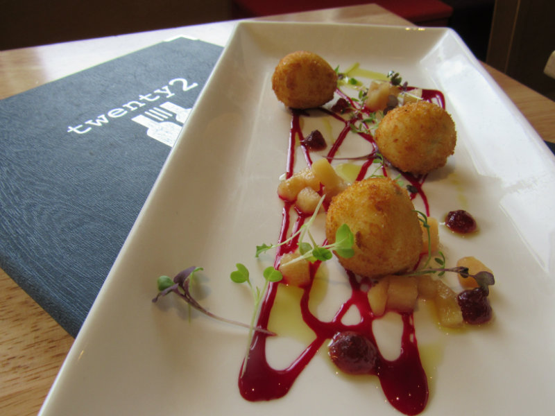 early bird menu at twenty2 restaurant, dublin 9