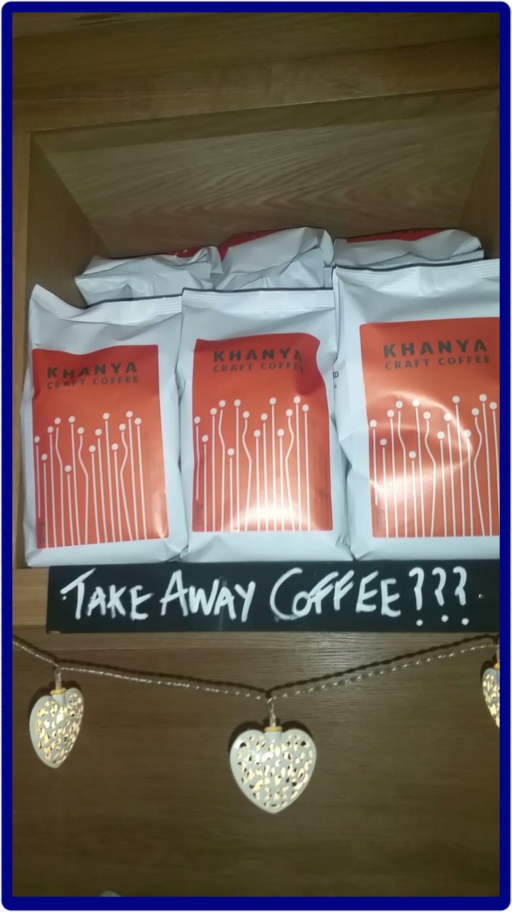 takeaway coffee at twenty2 restaurant, dublin 9