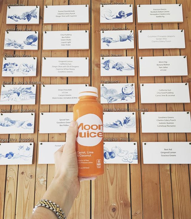 Deeeelllicious juices with original flavours.... Yum Scrum 🙌 #MCrecommends #MCinLA