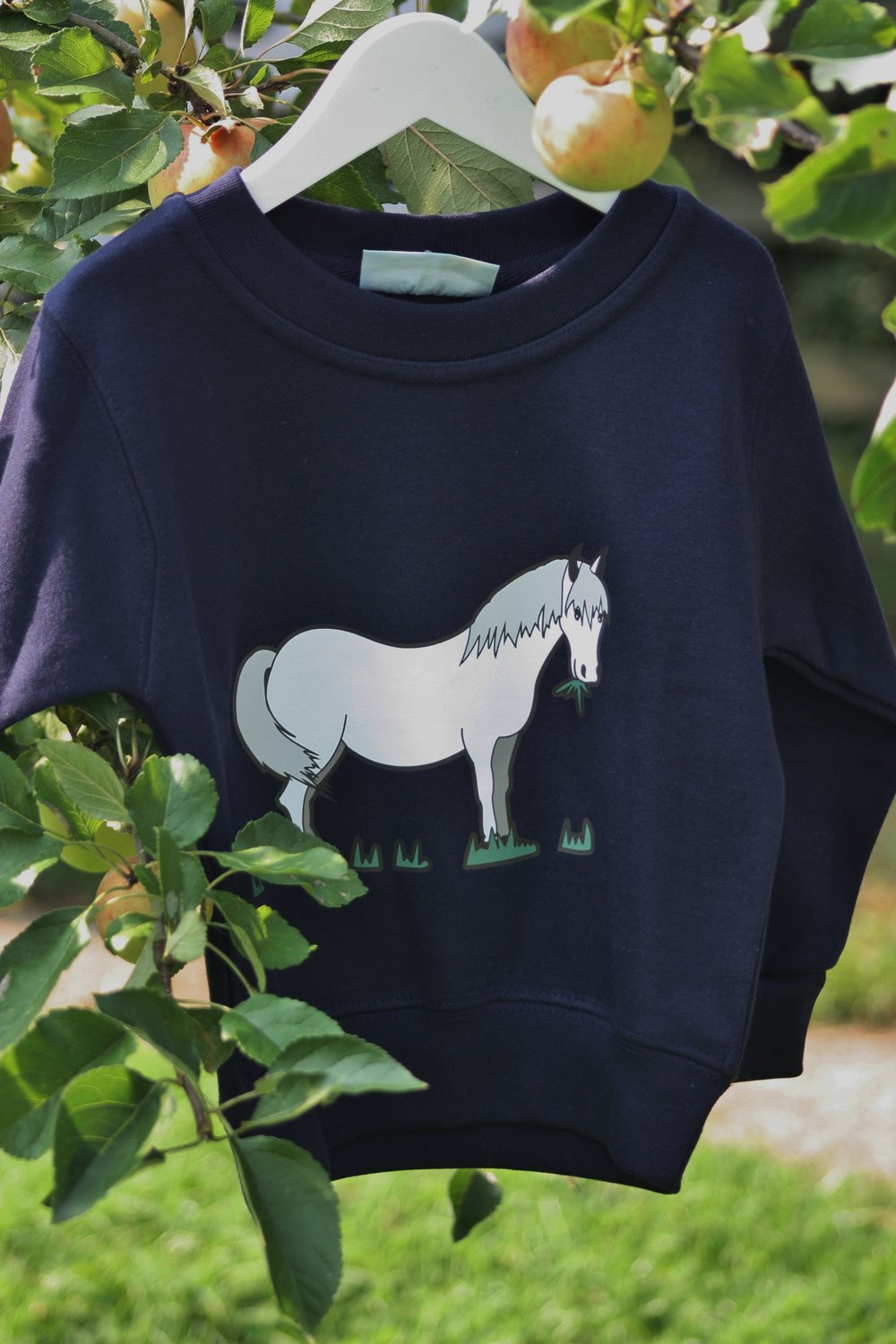 Navy grey pony.jpg