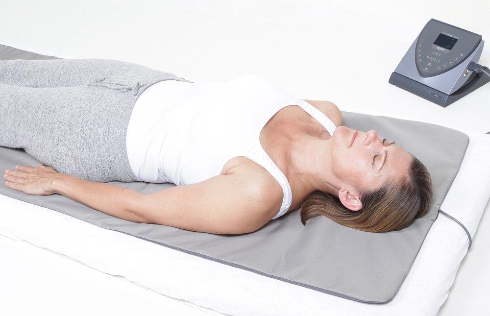 Einfach auf der Bemer-Matte entspannen, während die kleinsten Gefäße sich mit Blut versorgen