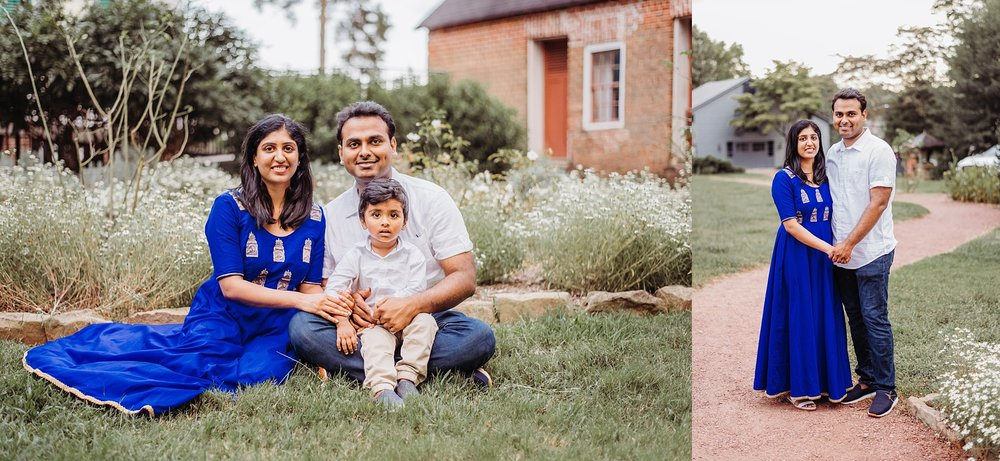 Family pictures at Barrington Hall, Roswell, GA
