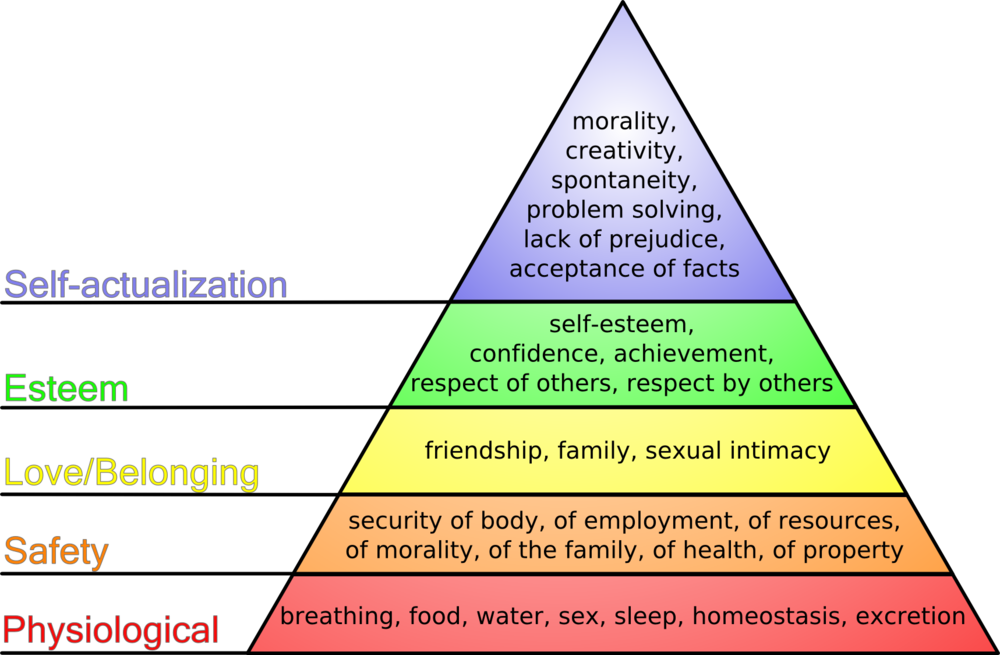 THE MASLOW MODEL