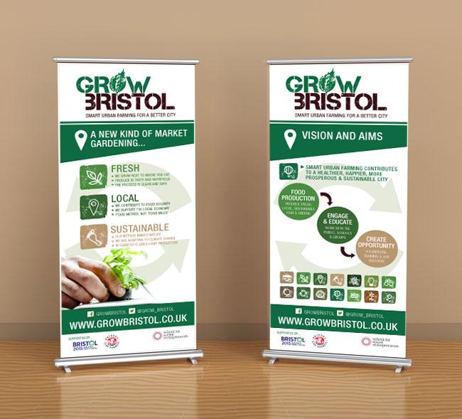Grow Bristol Banners